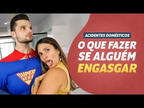 Imagem ilustrativa do vídeo: O que fazer se alguém ENGASGAR I Acidentes Domésticos #01