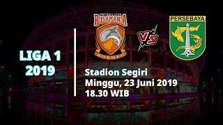 Link Live Streaming Liga 1 2019 Borneo FC Vs Persebaya Minggu (23/6) Pukul 18.30 WIB