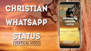 Christian Whatsapp Status | Encouraging Bible Verse | Vertical Video - 3