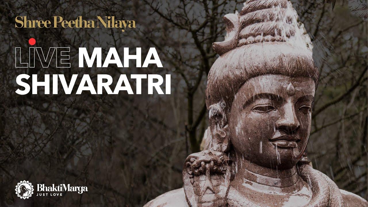 Maha Shivaratri LIVE from Shree Peetha Nilaya