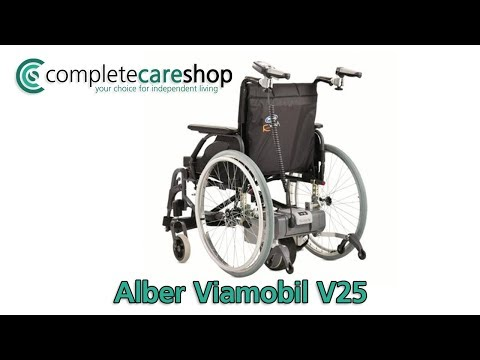 How To assemble And Use The Alber Viamobil V25