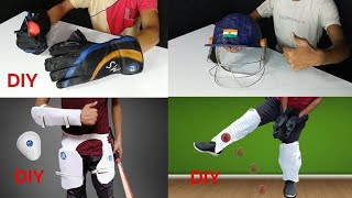 5 Amazing Cricket Equipment You Can Make At Home
