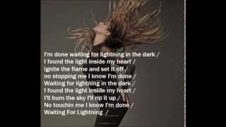 Cheryl - Only Human Album - Waiting For Lightning Lyrics