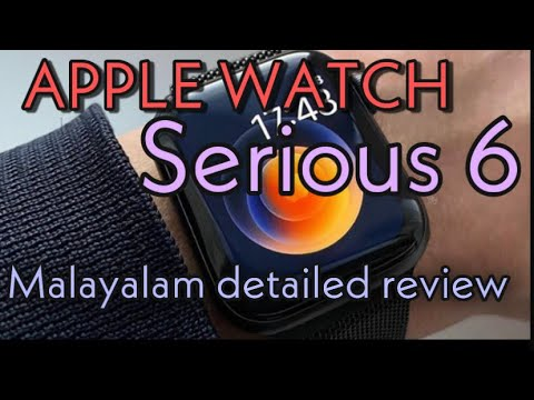 Apple Watch Series 6 GPS, 44mm BLACK Aluminium Case with BLACK Sport Band |OWNERD |REVIEW |MALAYALAM