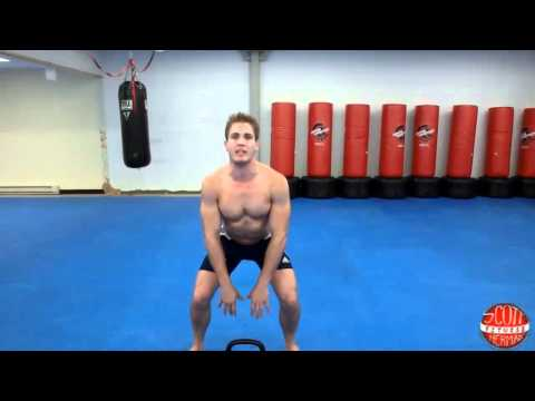 Kettlebell Sumo High Pull