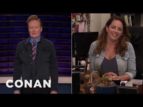 "Conan Checks Back In On Sona's ""Friends"" Marathon - CONAN on TBS (видео)"