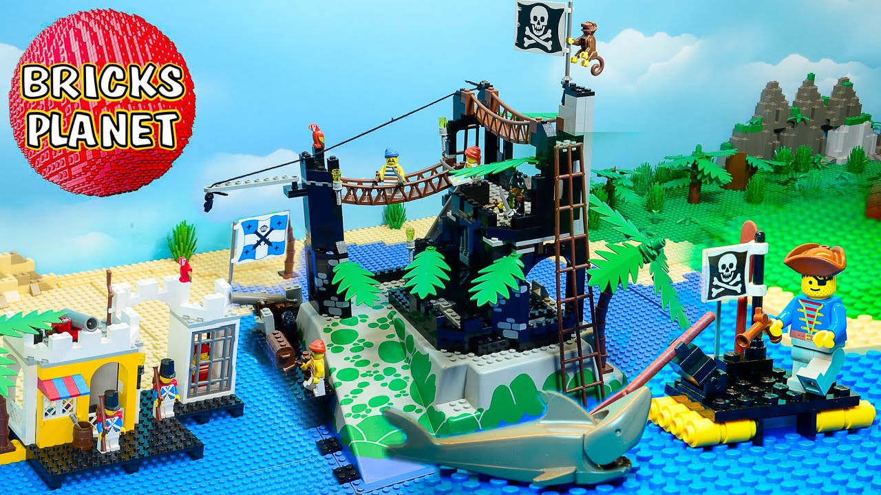 LEGO Pirates 1991 Ultimate Stop Motion Review