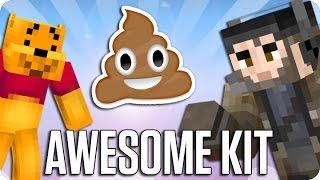 ¡KIT DE MIERDA CHALLENGE! SKY WARS | Minecraft con Luh