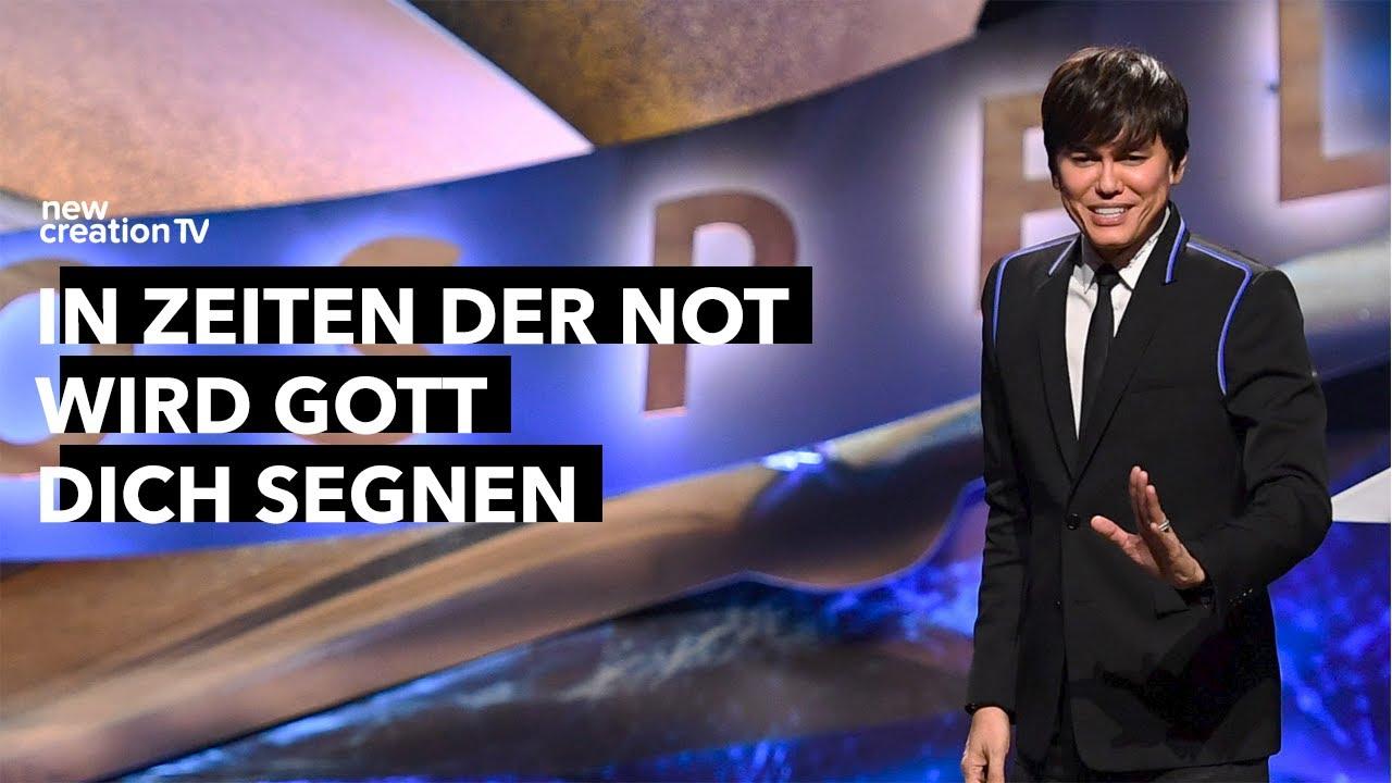 In Zeiten der Not wird Gott dich segnen I New Creation TV Deutsch