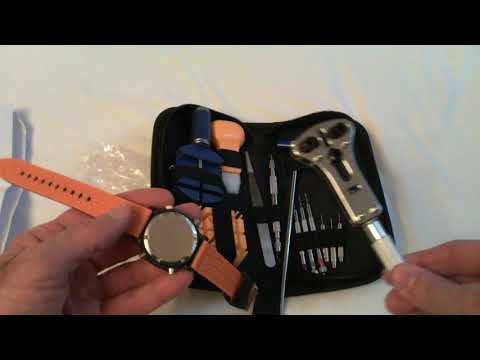 Portable Watch Repair Tool Set Kit For Watchmakers Case Openers