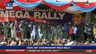 Osun Election: ADP Takes Mega Rally To Iwo Pt.6 |Live Event|