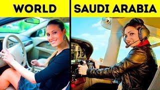30 einzigartige Dinge, die nur in Saudi-Arabien passieren