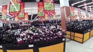 Обувной отдел в Китае #  Цены на обувь