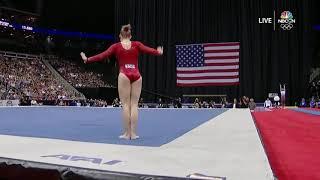 Jade Carey–Floor Exercise – 2019 U.S. Gymnastics Championships – Senior Women Day 1 - NBCSN