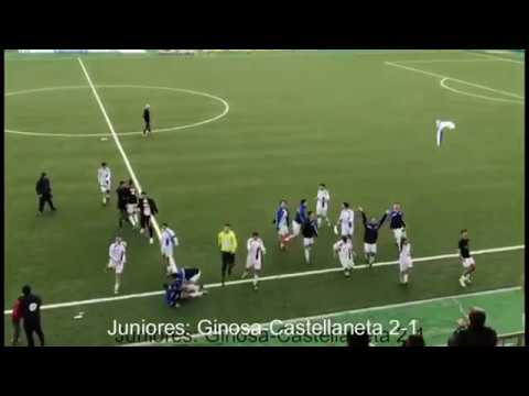 Preview video Juniores: GINOSA-CASTELLANETA 2-1 Il derby al Ginosa
