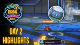 METSANAURIS 200IQ FAKE | RLCS S6 LAN Highlights - Day 2