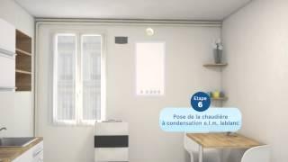 Remplacement de chaudièreErP Easy par ELM LEBLANC