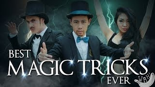 The Best Magic Tricks Ever