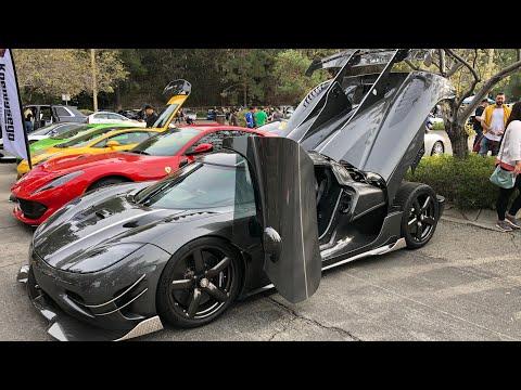 3 Koenigsegg + Supercar take offs!