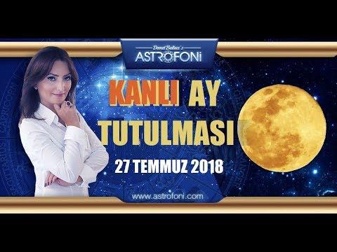 Kanli Ay Tutulmasi 27 Temmuz 2018 Kova Burcunda Demet Baltacı