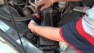 Air Filter Replacement Chevrolet Blazer