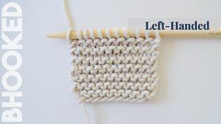 Left Hand Garter Stitch for Beginners