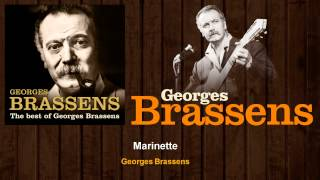 Georges Brassens - Marinette (Audio)
