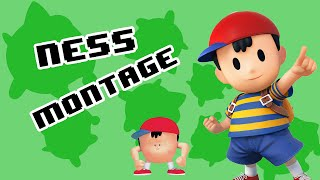 Ness Montage - SSB4 Wii U - dooclip.me