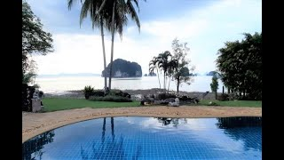 Secluded Six  Bedroom Pool Villa on the Bay in Khao Thong, Krabi
