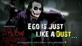 Joker Whatsapp Status Bad Boy Attitude Status Joker Attitude