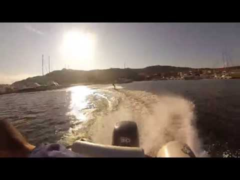 Wakeboarding in Cannigione