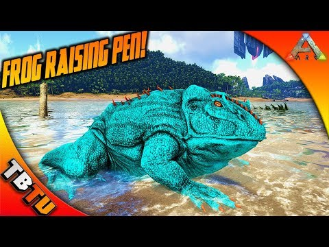 ARK BEELZEBUFO BREEDING AND MUTATIONS! BABY FROG RAISING PEN! Ark Survival Evolved