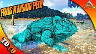 ARK BEELZEBUFO BREEDING AND MUTATIONS! BABY FROG RAISING PEN! Ark Survival Evolved