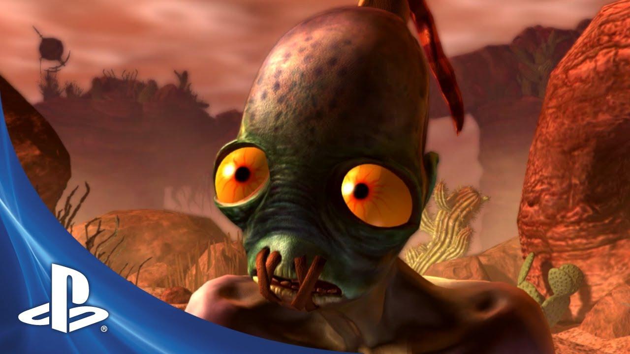 Oddworld: New 'n' Tasty Story Trailer Debuts
