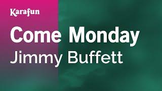 Karaoke Come Monday - Jimmy Buffett *