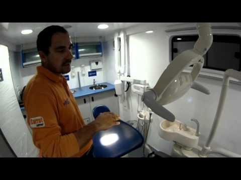 Funcionamiento Lámpara Led en unidad dental Amaro Excellence