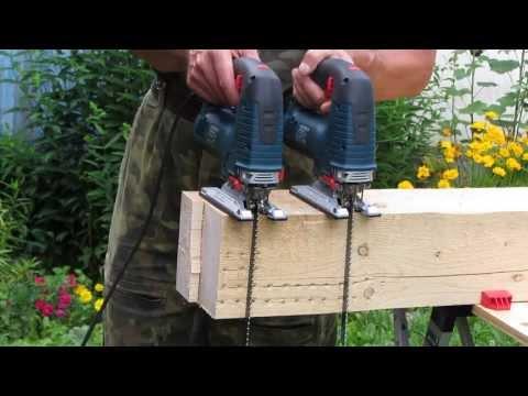 Bosch GST 160 BCE  & GST 140 BCE. Test 01. (видео)