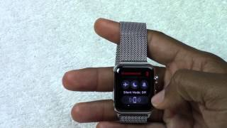 Apple Watch - Turning the Sound On, Off, and to Vibrate​​​ | H2TechVideos​​​