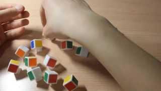 Как разобрать, и собрать кубика рубика что бы ни сломались детали