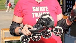 Speed Skating Techniques   Roller-Skate