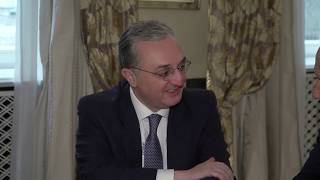 Zohrab Mnatsakanyan met with Ahmed Aboul Gheit, the Secretary-General of the Arab League