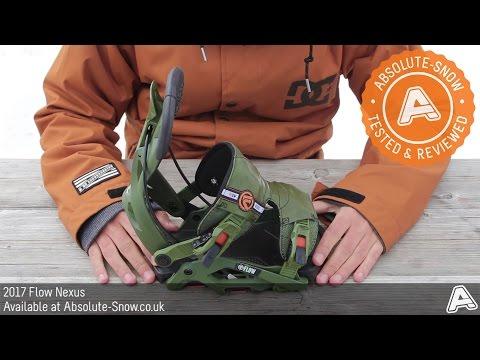 2016 / 2017 | Flow Nexus Snowboard Bindings | Video Review