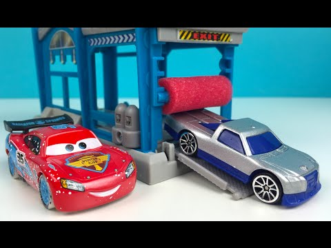 MATCHBOX MINI SET LAVADO DE COCHES - CAR WASH MATCHBOX - MATCHBOX EL MUELLE DEL TIBURON SHARK