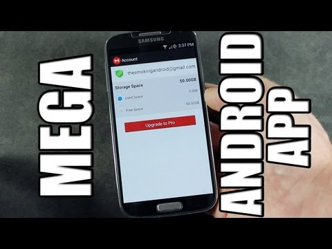 Video Official MEGA Cloud Storage App for Android