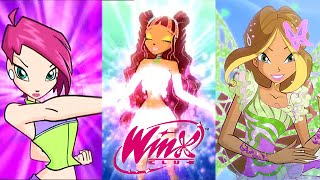 Winx Club: All Transformations Up To Butterflix!