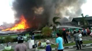 preview picture of video 'kebakaran tanah grogot'