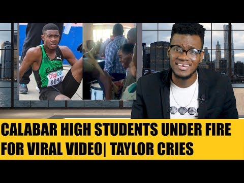 Calabar Students Message To Kingston College Goes Viral Plus Christopher Taylor Speaks