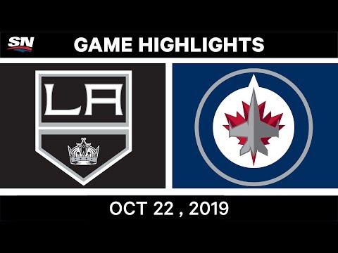 NHL Highlights | Kings vs Jets – Oct 22, 2019