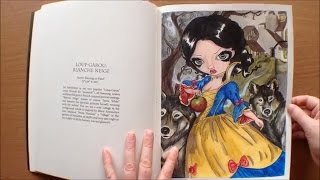 Jasmine Becket-Griffith Coloring Book A Fantasy Art Adventure  Colouring Book Flipthrough