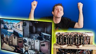 The $100,000 PC LIVES! - 6 Editors 1 CPU Pt. 5